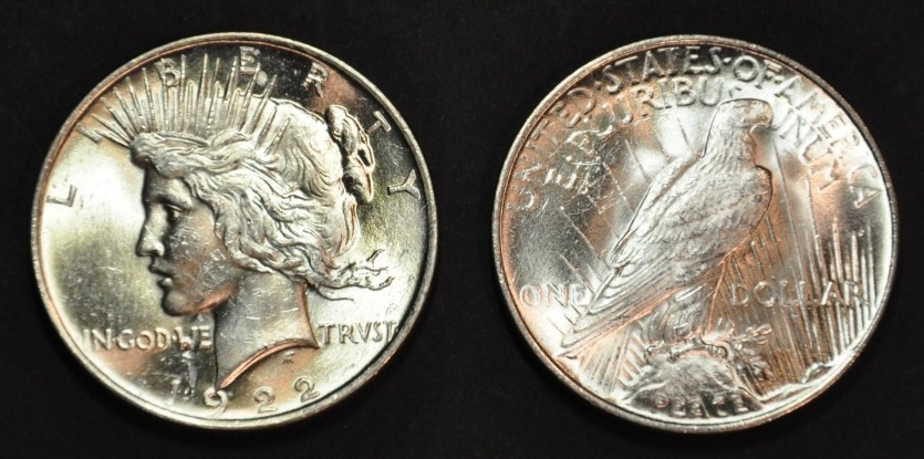 1923 Silver Peace Dollar Prices · 1923 Peace Silver Dollar Value