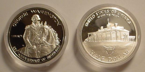 1982 George Washington Proof Silver Half Dollar