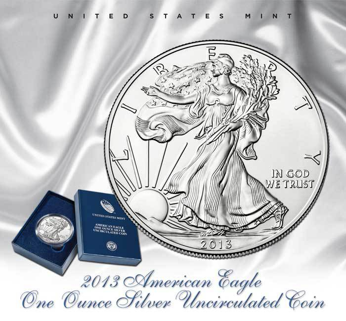 2013-W Burnished Silver Eagle
