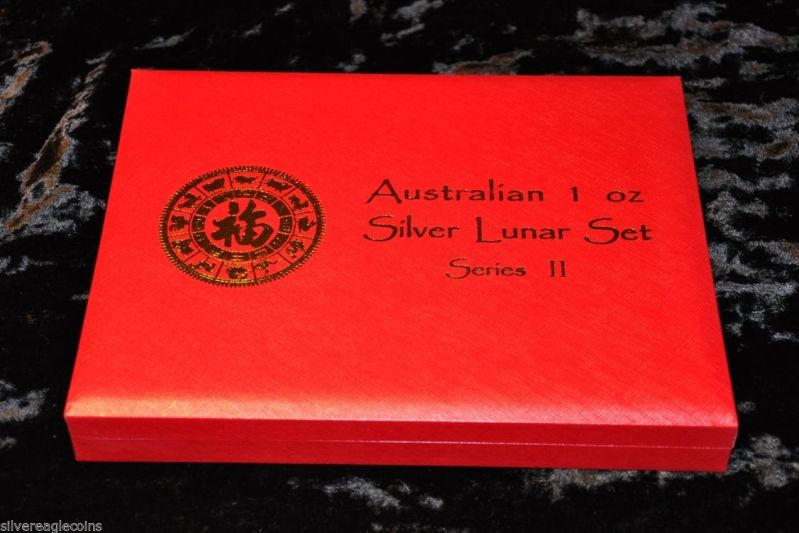 Australia Silver Lunar Series 2 Presentation Box