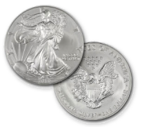 Silver Eagles at Discount Prices - American Eagle Silver Dollar Coins